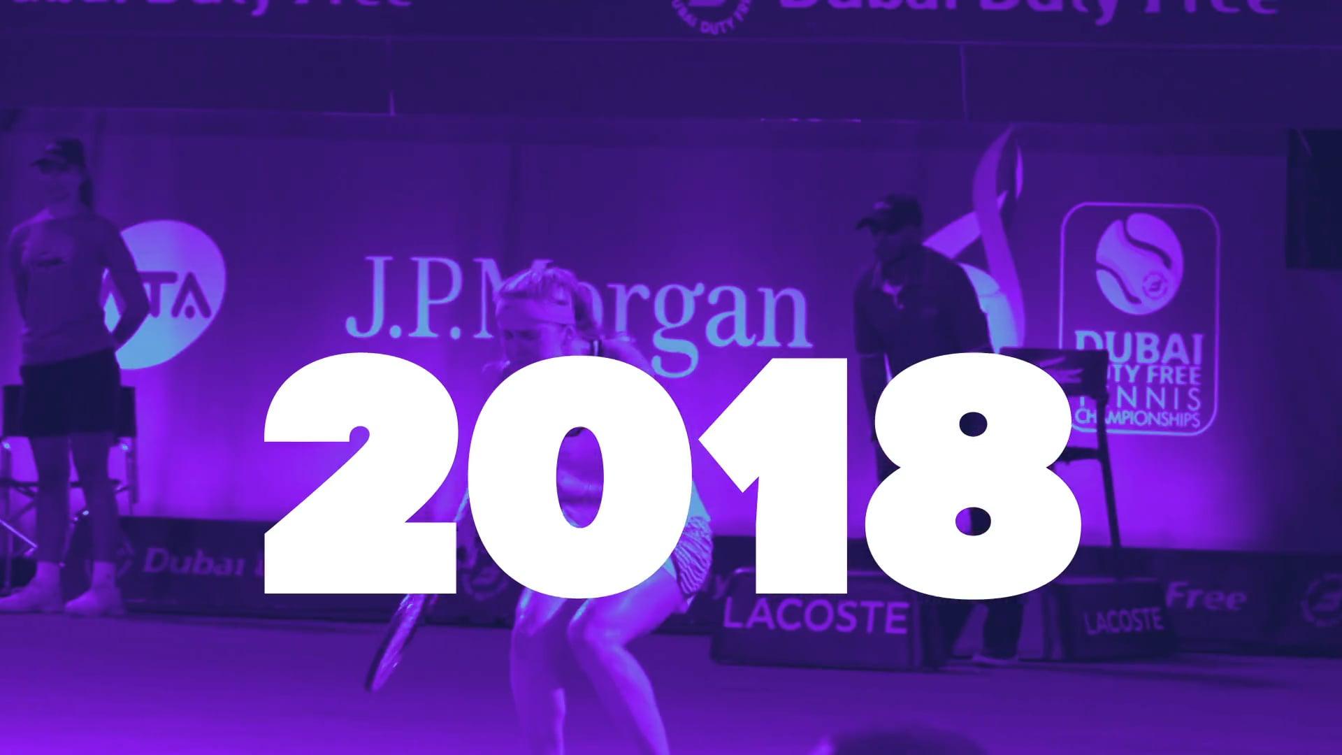 WTA Vuelve en el 2018
