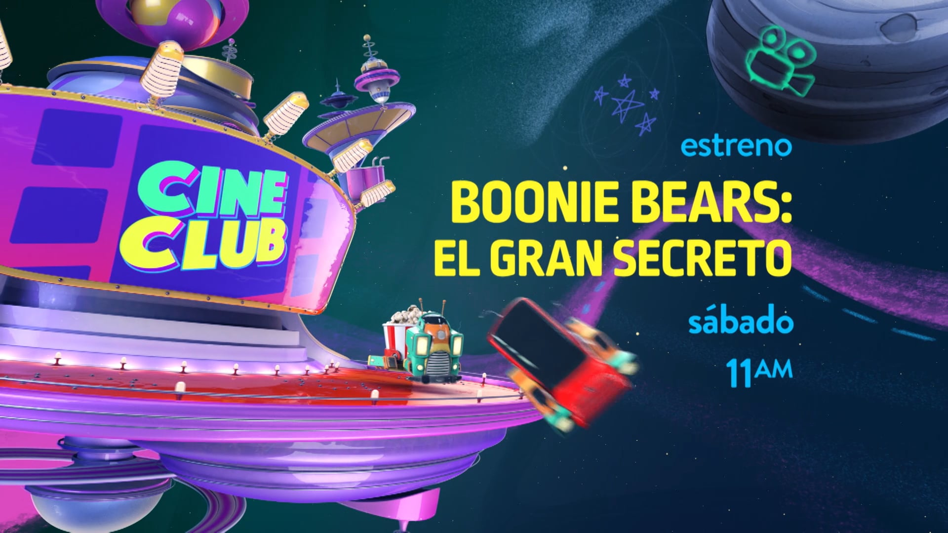 CINECLUB – BOONIE BEARS – THE BIG TOP SECRET