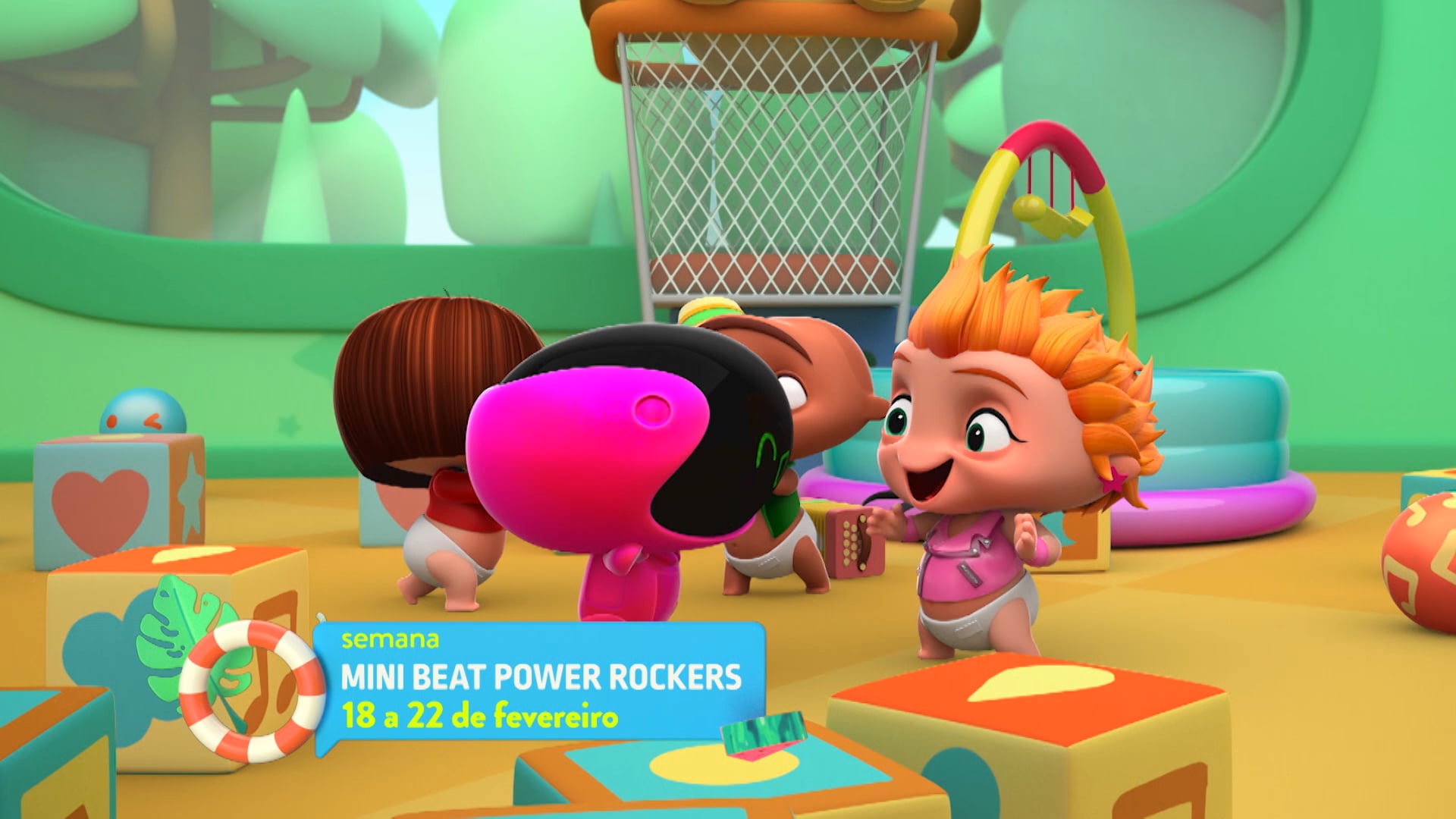 SEMANA MINI BEATS POWER ROCKERS