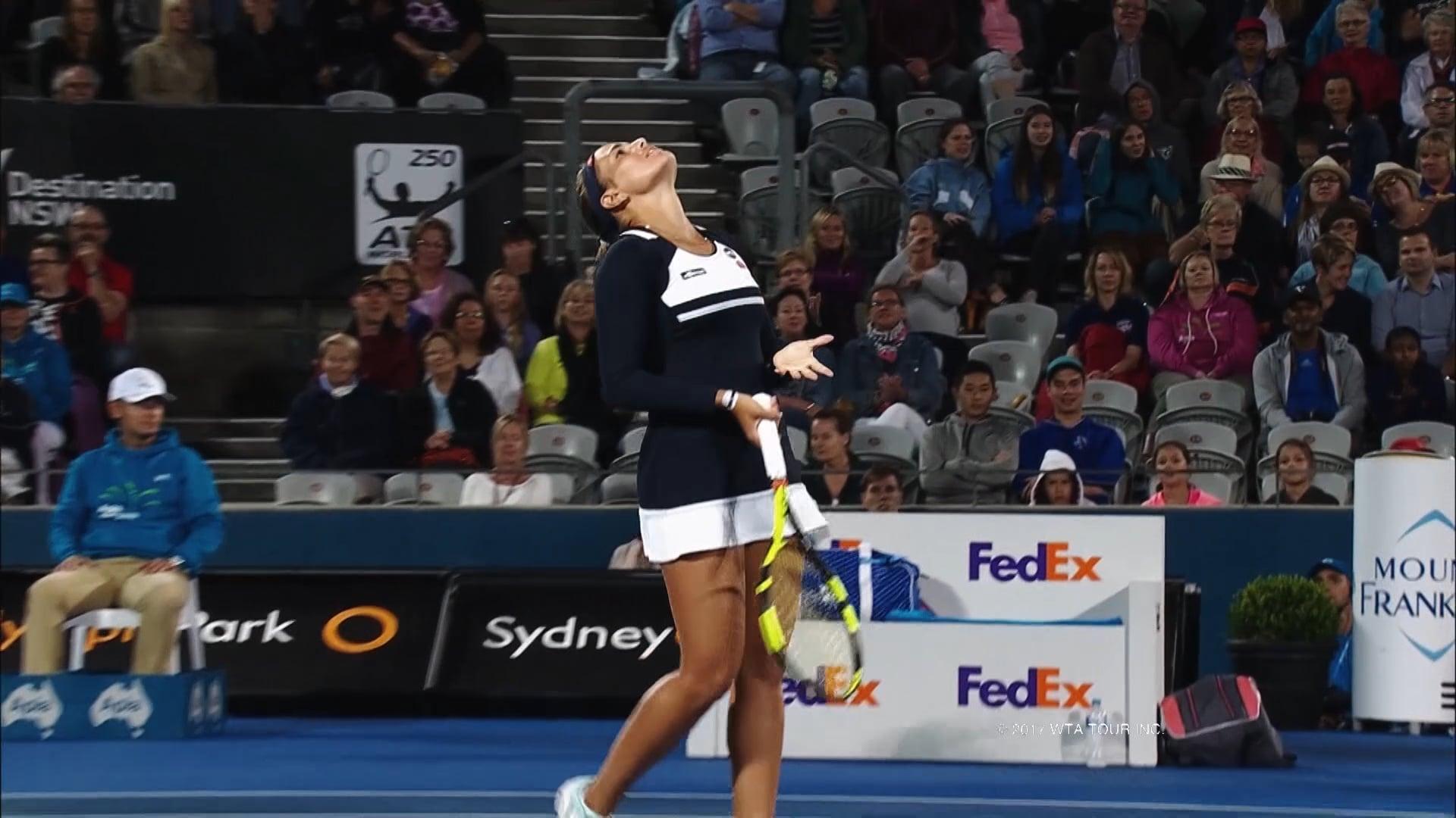 WTA – SYDNEY QUARTER FINALS