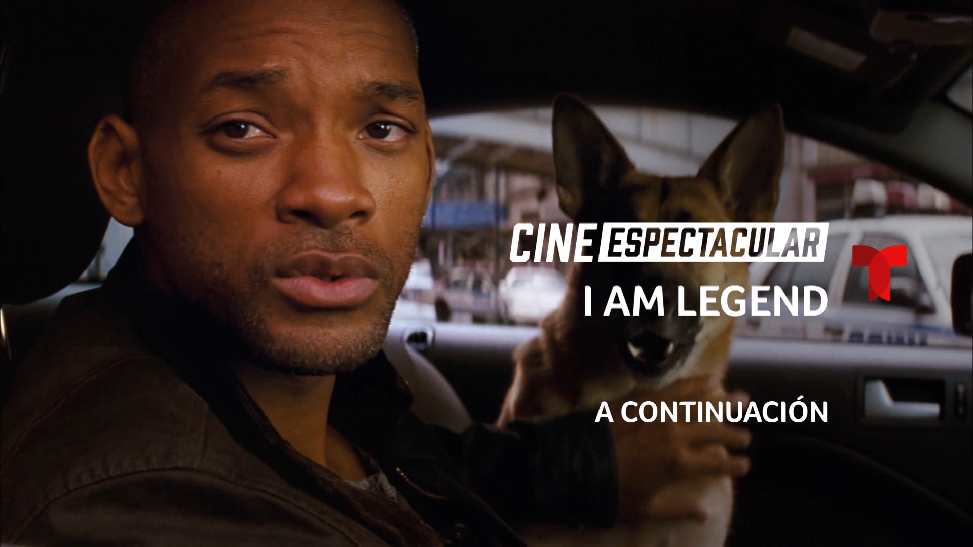 CINE ESPECTACULAR: I AM LEGEND – OPEN PROMO